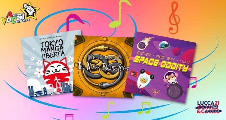 Tre Dischi Volanti… per il ritorno dal vivo dell'Anime Vocal Contest!