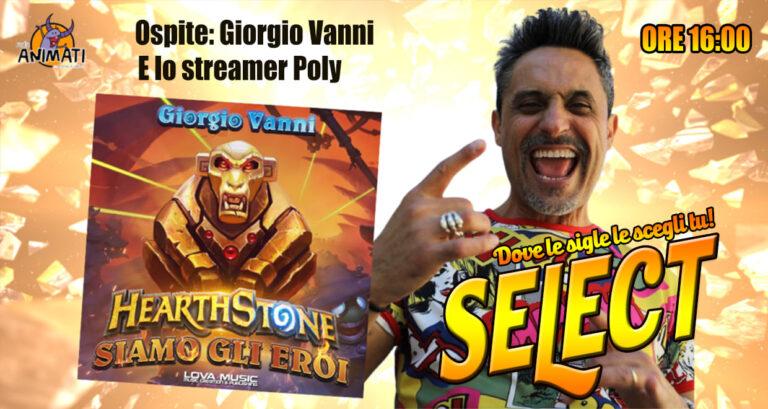Giorgio Vanni e Poly in diretta!
